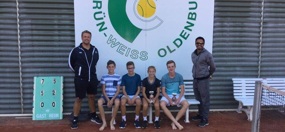 Under 16 boys & Under 14 girls champions #proud #oldenburg #LKturnier
