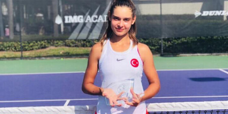 Antonio Valdés is proud to announce Melisa Ercan as the winner of the prestigious tournament Eddie Herr girls' 14