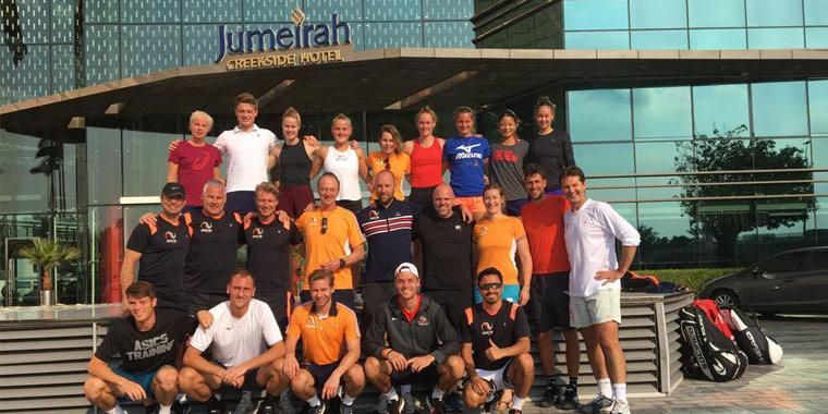 ANTONIO VALDÉS Tennisakademie KNLTB pre season 2018 in Dubai