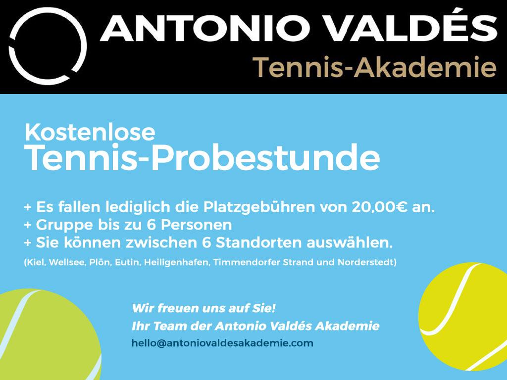 Tennis Probestunde