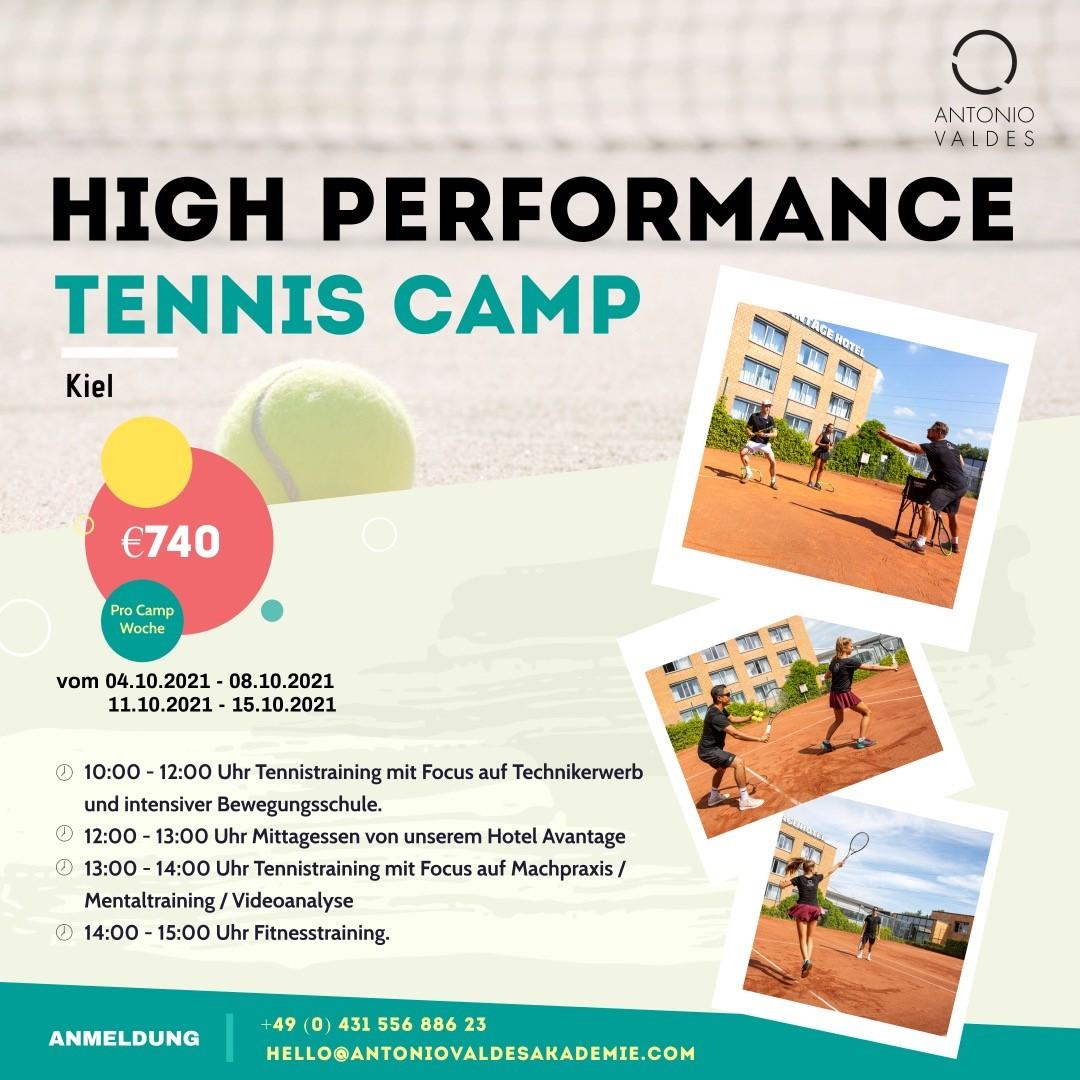 High Perfomance Tennis Camp